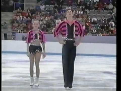 Elena Berezhnaya-Oleg Shliachov SP 1994 Lillehammer Olympics