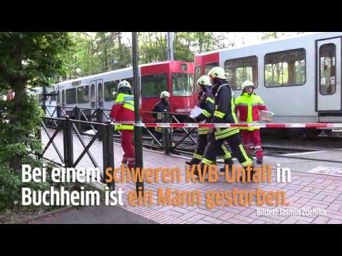 Mann stirbt bei KVB-Unfall in Köln Buchheim