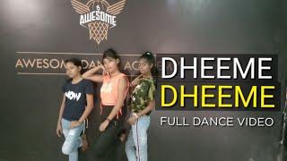 Dheeme dheeme || tony kakkad ft. Neha Sharma | dance video |Rk choreography | Awesome Dance Academy