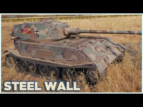 VK 45.02 (P) Ausf. B • IRON FORTRESS • WoT Gameplay