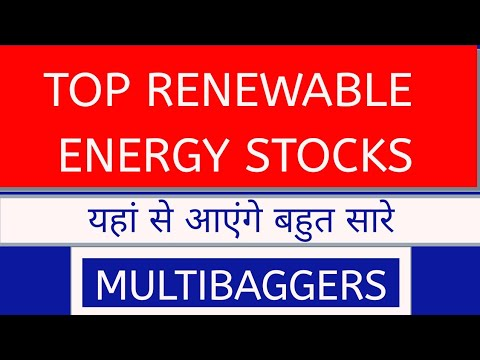 Renewable energy stocks in india | power sector stocks or shares in india 2020 | Adani green news