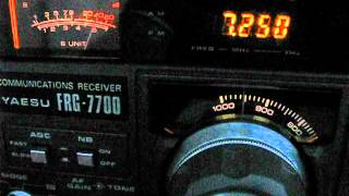 Bangladesh Betar 7250 khz English service