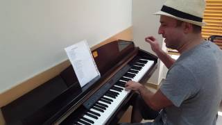 AN EISAI ENA ASTERI (Greek song) Piano version / Serkan Polat