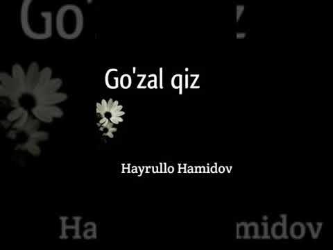 Gozal Qiz Hayrulla Hamidov