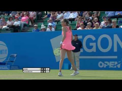 Magdalena Rybarikova Aegon Open Nottingham shot of the day