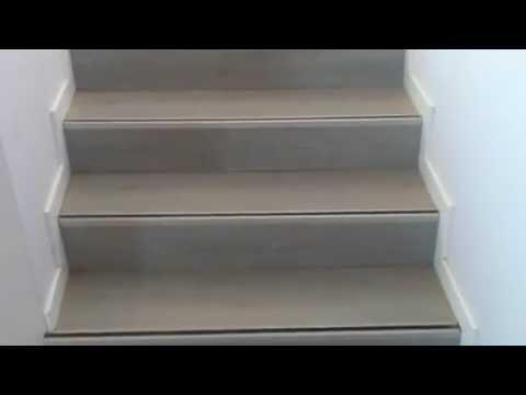 Escalera de parquet laminado youtube - Escaleras de cemento para interiores ...