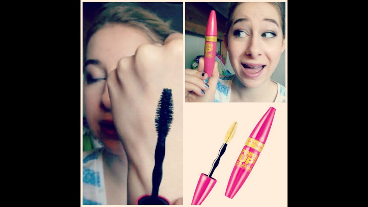 NEW Maybelline Volum' Express Pumped Up Colossal Mascara Review+ ...