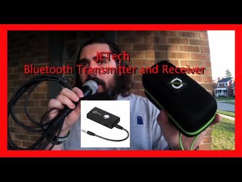 DIY Bluetooth microphone JETech bluetooth transmitter and Reciever
