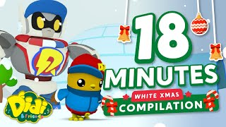 Xmas Song For Kids - Building Igloos Together Compilation   Didi & Friends