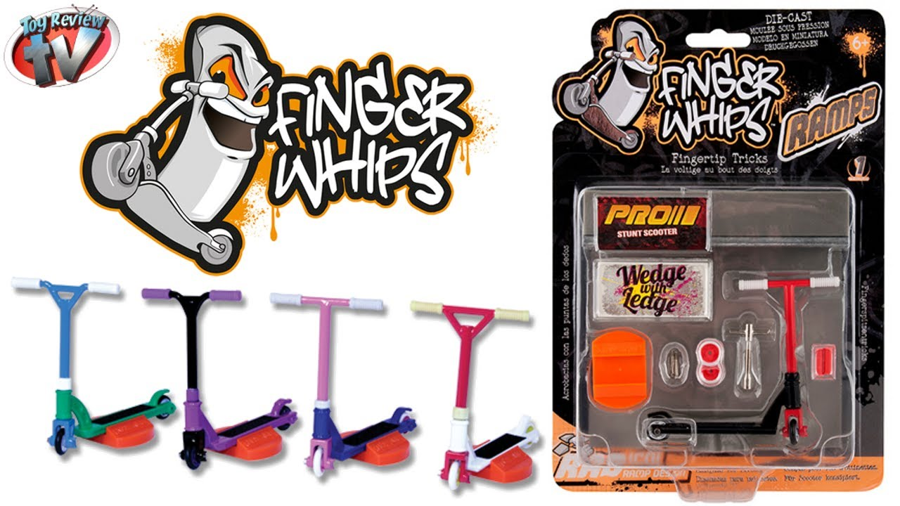 Finger Whips Ramp Pack Toy Review Re Creation Ltd Youtube