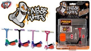 Finger Whips Ramp Pack Toy Review, Re:creation Ltd