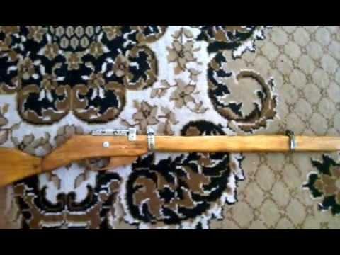 Чертежи макета винтовки мосина из дерева своими руками 176