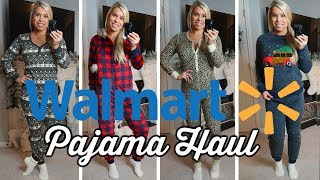 WALMART PAJAMA TRY ON HAUL | EVERYTHING UNDER $20