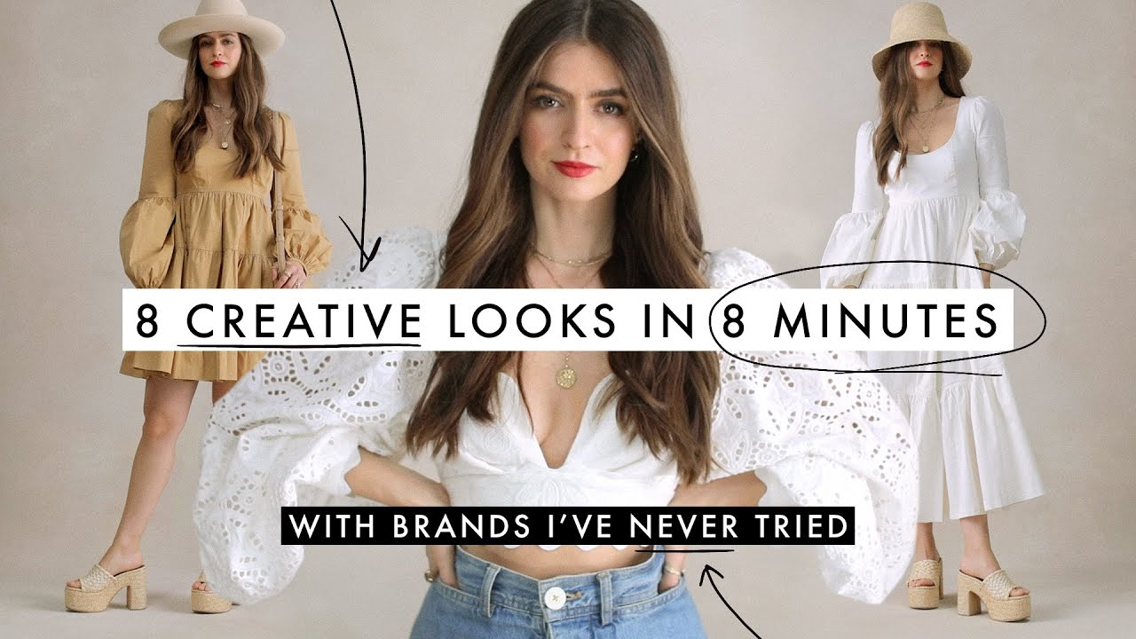 Build 8 Looks in 8 Minutes for 8 Creative Scenarios: Outfit Challenge