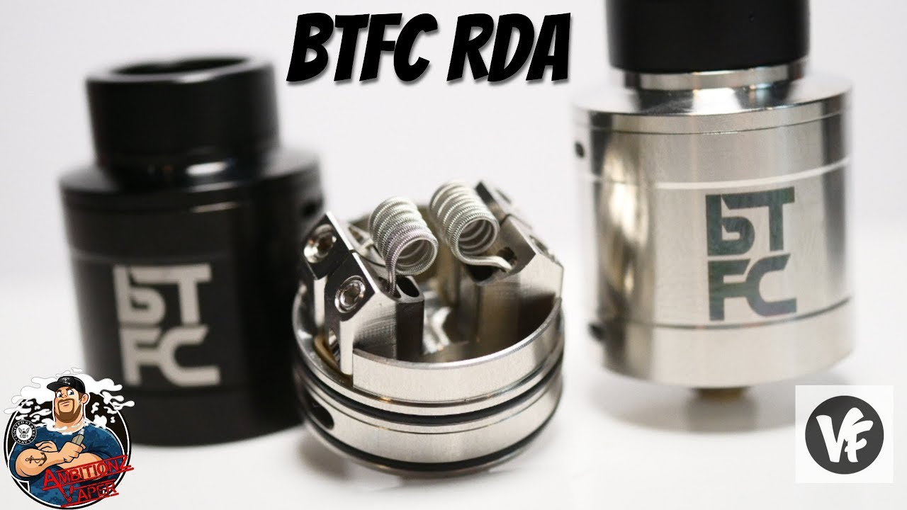 BTFC RDA by VapnFagan & AugVape Review & Build | Best Squonk RDA of 2018!