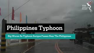 Year's first super typhoon Surigae triggers evacuation of 100,000 in Philippines