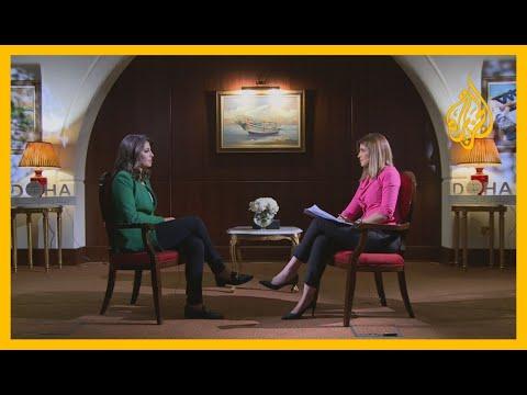 المتحدثة باسم الخارجية الأمريكية للجزيرة: مستعدون للتفاوض مع إيران، ولا بديل للحل السلمي  بليبيا  - نشر قبل 42 دقيقة