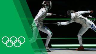 Elisa Di Francisca [ITA] on becoming Olympic Foil champion at London 2012