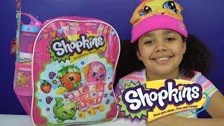 Shopkins Surprise Backpack   Season 4 Shopkins Toys Inside   Kids Toy Review