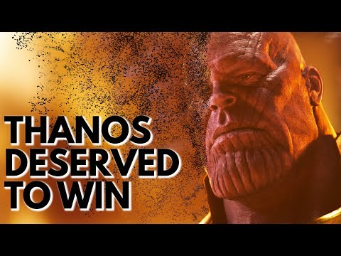 Thanos Deserved to Win | Video Essay