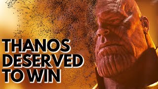 Thanos Deserved to Win | Video Essay thumbnail