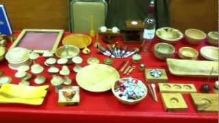 Quick View Of Spencer's Wooden Creations Craft Fair Table Setup