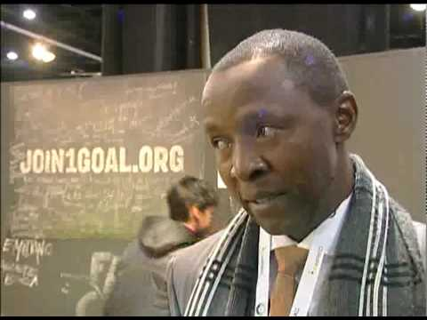 Chris Jiyane, Grinaker-LTA talks to World Football House @ WSDE 2010