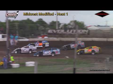 Midwest Modified Heats - Casino Speedway - 6/24/18