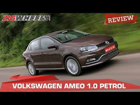 Volkswagen Ameo 1 0 Petrol: Review | CarDekho com