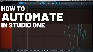 How to Automate in Studio One