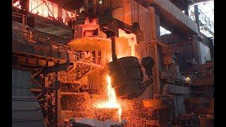 Металлургический комбинат «Красный Октябрь» возобновил производство