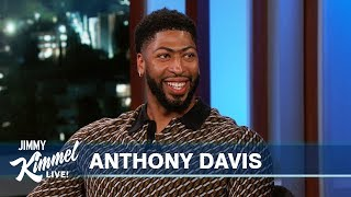 Anthony Davis on Lakers Trade, LeBron James & Space Jam