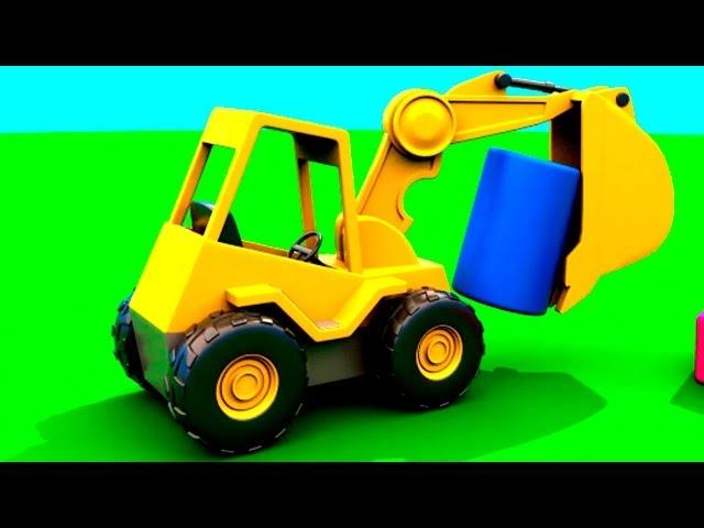 Развивающие Мультфильмы про Машинки - ЦИЛИНДР - Город на Детской Площадке