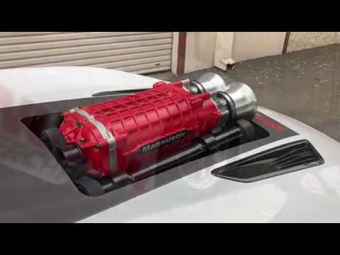 6th Gen Camaro >> 2016 Camaro SS 416ci Magnuson TVS 2650 - YouTube