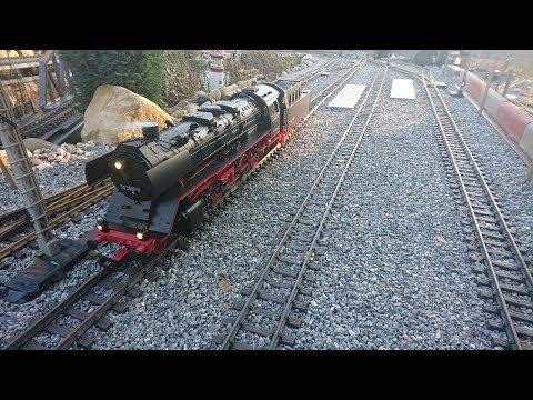 Neu ..Piko G 37241 /BR 50 der DR /Digital mit Sound ab Werk /Test im Lgb R1/R2/R3 Gartenbahn
