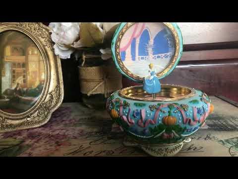 Cinderella Disney music box