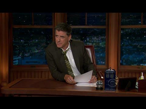 Late Late Show with Craig Ferguson 9/30/2011 Seth Rogen, Judy Greer