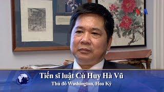 Ông Cù Huy Hà Vũ tuyên bố sẽ trở về Việt Nam trong thắng lợi