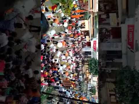 Samna Dhol Tasha Pathak,Latur Performing In Shree Ganesh Visarjan @Jay Shiva Ganesh Mandal,Kingaon.