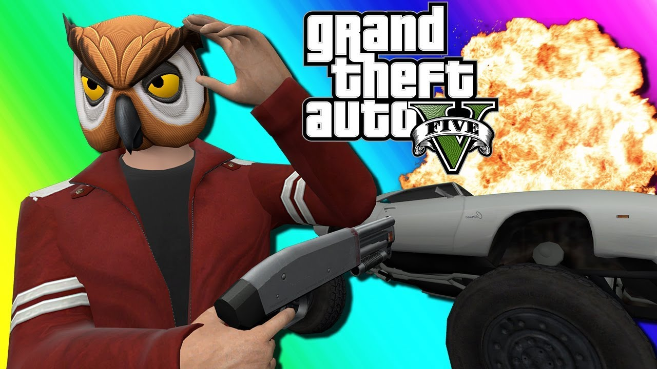 GTA5 Online Funny Moments - Car Roulette Returns!