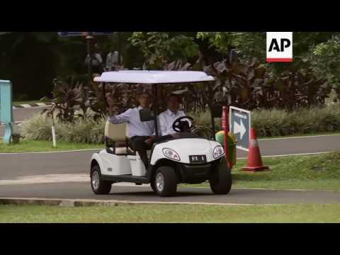 Obama meets Indonesian President Widodo