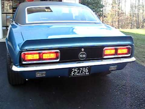 1967-1968 Chevy Camaro RS LED Tail Light Panels | DIGI-TAILS