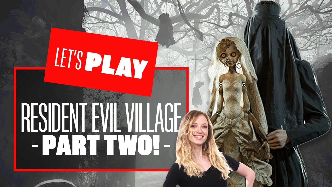 Let's Play Resident Evil Village PS5 PART TWO - RESIDENT EVIL VILLAGE GAMEPLAY REACTION