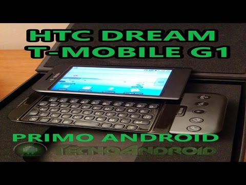 Primo smartphone Android HTC Desire T-Mobile G1