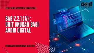 Download Mp3 Ask Tingkatan 1: Unit Ukuran Bagi Audio Digital