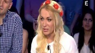 Inna, FEMEN On n'est pas couché 15 juin 2013 #ONPC