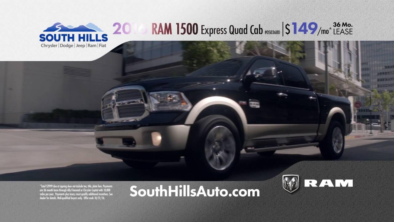 Marvelous South Hills RAM U0027Power Daysu0027 20% Off  October 2016. South Hills Chrysler  Dodge Jeep ...
