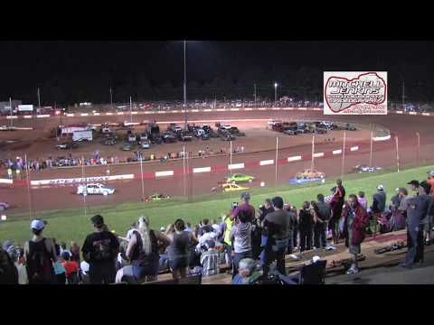 Dixie Speedway 6/17/17 Official Highlights!