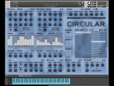 Circular for Kontakt 5 - Pads Demo