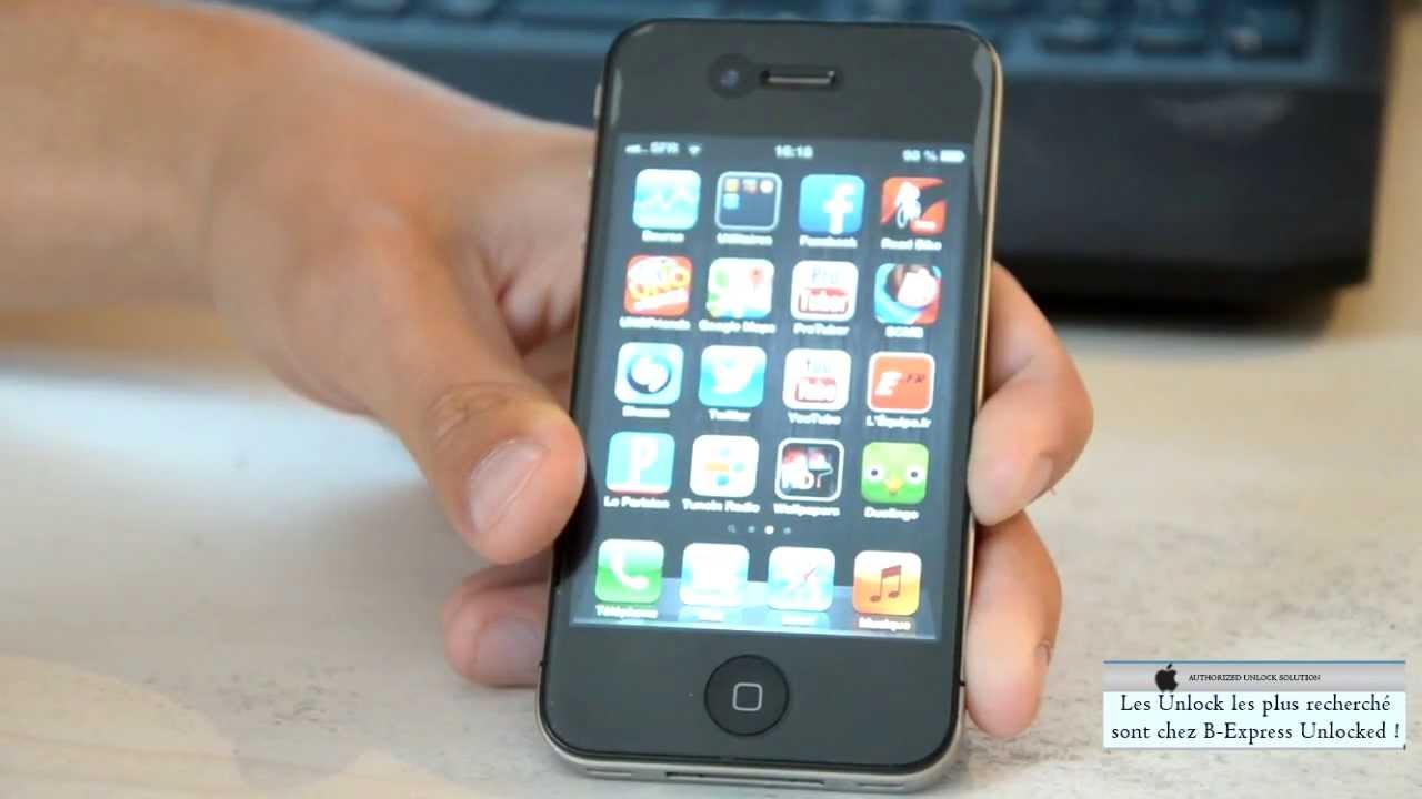 Desimlocker Iphone  Gratuit